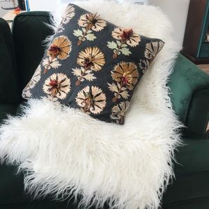 Urban Outfitters shag throw blanket